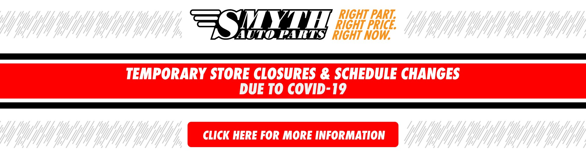 Temporary Store Closures Due to Covid 19
