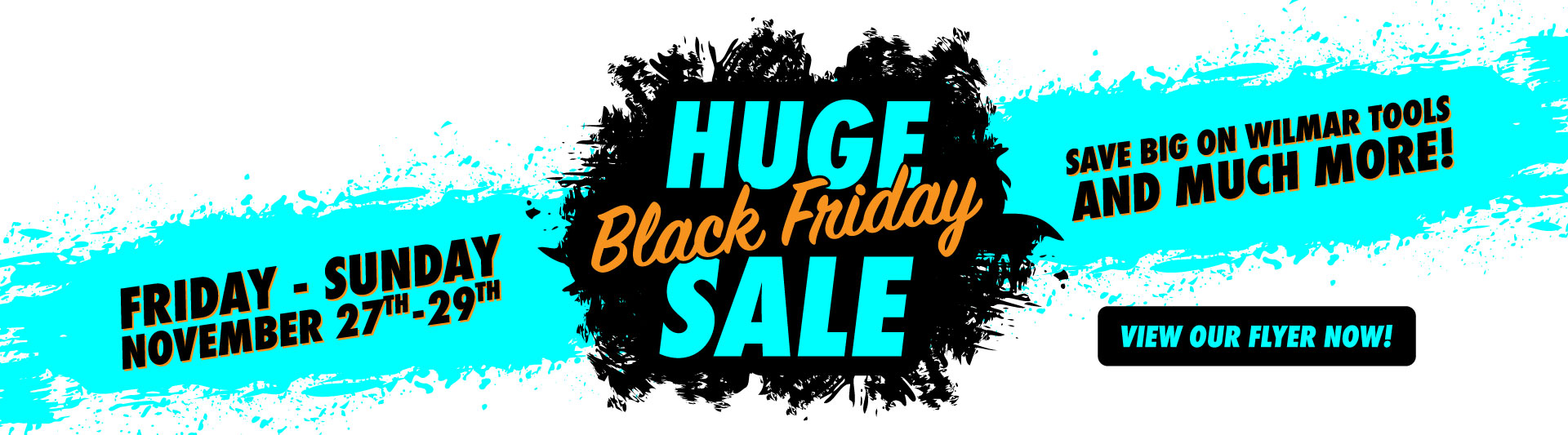 Huge Black Friday Sale is November 27th through 29th