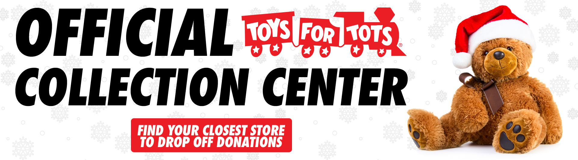 Official Toys for Tots Donation Center