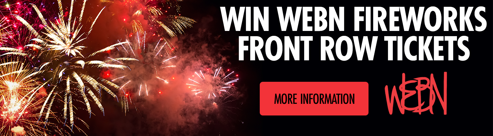 Win Tickets to the WEBN Fireworks